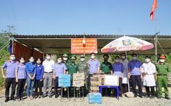 Thừa Thiên Huế: Hỗ trợ, động viên kịp thời lực lượng chống dịch trên tuyến đầu biên giới