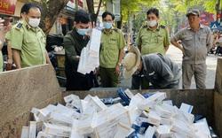 Tiêu hủy hơn 6.000 bao thuốc lá điếu nhập lậu