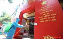 Hà Nội: Phun khử khuẩn bảo đảm tuyệt đối an toàn về phòng dịch Covid-19 tại các điểm bầu cử