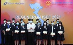 Học sinh Việt Nam đoạt giải Hội thi Khoa học Kỹ thuật quốc tế 2021