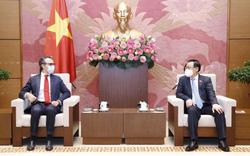 Chủ tịch Quốc hội đề nghị EU giúp Việt Nam tiếp cận nguồn vắc xin Covid-19