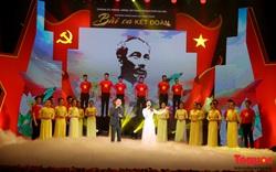 """Chương trình nghệ thuật """"Bài ca kết đoàn"""" chào mừng thành công của Ngày hội bầu cử được tổ chức không có khán giả"""