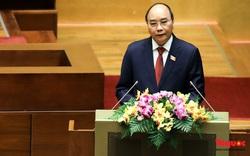 Chủ tịch nước Nguyễn Xuân Phúc chúc tuyển Việt Nam giành vé vào vòng loại thứ ba World Cup 2022