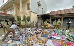 Tiêu hủy gần 67.000 sản phẩm hàng hoá vi phạm có trị giá hơn 1,5 tỷ đồng