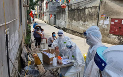 Đẩy mạnh công tác test nhanh để khống chế dịch tại Bắc Giang