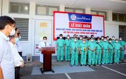 Bệnh viện Trung ương Huế chi viện giúp Bắc Giang chống dịch, bệnh nhân COVID-19 duy nhất tại Quảng Ngãi xuất viện