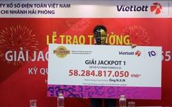 Tranh thủ mua vé số khi đi mua sắm tại Vinmart+, người chơi trúng Jackpot hơn 58 tỷ đồng