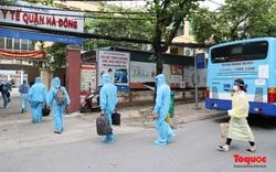 Hà Nội: Gần 300 người dân thủ đô được đón về từ tâm dịch Bắc Giang