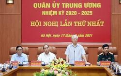 Công bố quyết định của Bộ Chính trị về công tác cán bộ tại Quân ủy Trung ương
