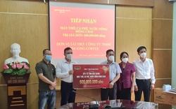 TNI King Coffee trao tặng cà phê, nước suối, máy thở  cho y bác sĩ cứu chữa bệnh nhân Covid-19 tỉnh Bắc Giang