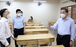 Hà Nội: Bám sát kế hoạch để tổ chức thành công kỳ thi lớp 10 THPT trong điều kiện phòng chống dịch