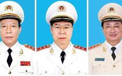 Ba Thượng tướng thôi giữ chức Thứ trưởng Bộ Công an
