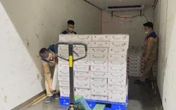 Vietnam Post dành trọn tải chuyến bay chuyển vải thiều xuất khẩu đến Nhật Bản