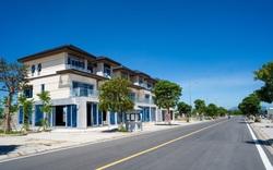 Tháng 7/2021 Đất Xanh Miền Trung bàn giao shophouse Regal Pavillon đến cư dân chỉ sau 3 tháng xây dựng