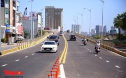 Thông xe cầu vượt nút giao thông hơn 700 tỷ đồng ở trung tâm Đà Nẵng