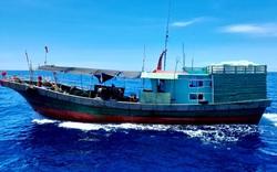 Đẩy đuổi tàu cá Trung Quốc xâm phạm chủ quyền vùng biển Việt Nam