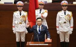 Đắc cử Chủ tịch Quốc hội khóa XV, ông Vương Đình Huệ: