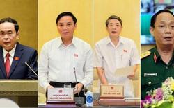Quốc hội bầu xong 4 phó chủ tịch