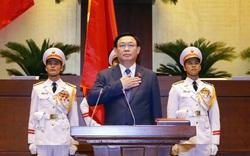 100% đại biểu Quốc hội có mặt tán thành cho thấy sự tín nhiệm cao của Chủ tịch Quốc hội Vương Đình Huệ