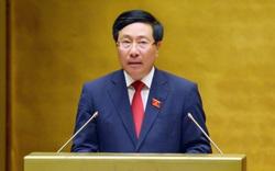 Phó Thủ tướng Phạm Bình Minh: Phân bổ linh hoạt, khoa học, hợp lý vắc xin cho các đối tượng ưu tiên