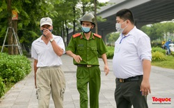 Hà Nội: Người dân bị lập biên bản, nhắc nhở khi đi tập thể dục