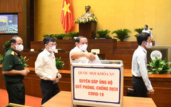 ĐB Quốc hội ủng hộ 500 triệu đồng cho Quỹ phòng, chống dịch COVID-19