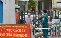 Hạn chế phương tiện tại tuyến đường Thanh Nhàn sau khi cách ly Bệnh viện Phổi Hà Nội