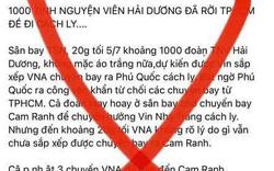 Thông tin các sinh viên Hải Dương rời TP.HCM là không đúng sự thật