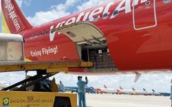 Chuyến bay Vietjet chở 200 máy thở cao cấp, hiện đại từ Đức đã hạ cánh
