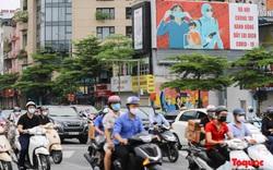 Giao thông Hà Nội bỗng nhiên đông như chưa từng giãn cách xã hội
