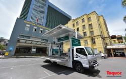 Cận cảnh xe chuyên dụng phục vụ tiêm chủng lưu động