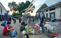 Chợ đầu mối phía Nam Hà Nội ngày đầu tiên mở cửa lại sau phong toả