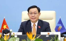 Chủ tịch Quốc hội Vương Đình Huệ đề nghị Nghị viện các nước trao quyền nhiều hơn cho Chính phủ để chủ động ứng phó với dịch bệnh