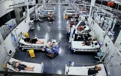 Trung tâm điều trị ca COVID-19 nặng của Bệnh viện Trung ương Huế tại TPHCM đón những bệnh nhân đầu tiên