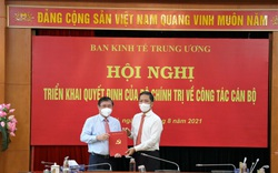 Tân Phó Trưởng Ban Kinh tế Trung ương Nguyễn Thành Phong: Nỗ lực phấn đấu để hoàn thành tốt nhiệm vụ được giao