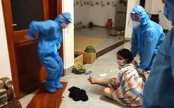 Khởi tố người phụ nữ là F1 cởi đồ, cố thủ trong nhà để trốn cách ly