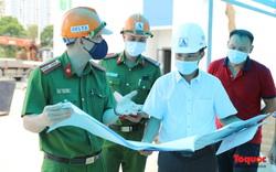 Kiểm tra công tác PCCC trước khi đưa vào vận hành Bệnh viện dã chiến Hoàng Mai