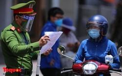 Công an Đà Nẵng hướng dẫn kiểm tra, xử lý các trường hợp người dân ra ngoài khi không cần thiết