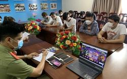 Bắt đối tượng tổ chức cho 15 người đánh bạc dưới hình thức game online