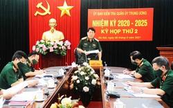 Uỷ ban Kiểm tra Quân ủy Trung ương xem xét, đề nghị thi hành kỷ luật quân nhân