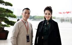 Á hậu Thụy Vân cùng NTK Đỗ Trịnh Hoài Nam tham dự CPO Business