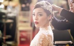 Kỳ Duyên xuất hiện như một nữ hoàng tuyết giữa giá rét Hà Nội
