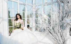 Thí sinh Hoa hậu hoàn vũ Việt Nam lộng lẫy trong áo cưới