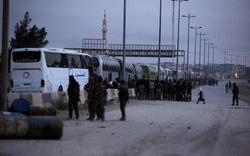 Syria hạ nhiệt sau cú chốt rút lui của phe nổi dậy