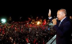 """Bất ngờ chiến thắng """"áp đảo"""" ông Erdogan tái đắc cử Tổng thống"""