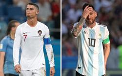 Ronaldo và Messi dắt tay nhau về nước: Đâu là sao sáng World Cup hiện tại?
