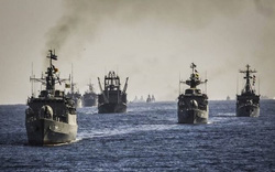 """Đáp trả diễn tập hải quân Iran """"rầm rộ"""" giữa đỉnh điểm căng thẳng với Mỹ"""