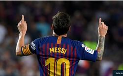 """""""Không ai có thể kế thừa áo số 10 của Messi"""""""