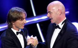 """Luka Modric lên tiếng sau khi phá vỡ tiền lệ mang tên """"Ronaldo, Messi"""""""