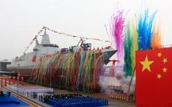 """Rực rỡ cờ hoa, tàu khu trục """"made-in-Trung Quốc"""" chinh phục thế giới"""